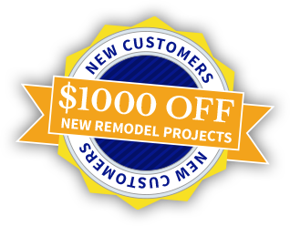 $1000 off new remodel projects for new customers